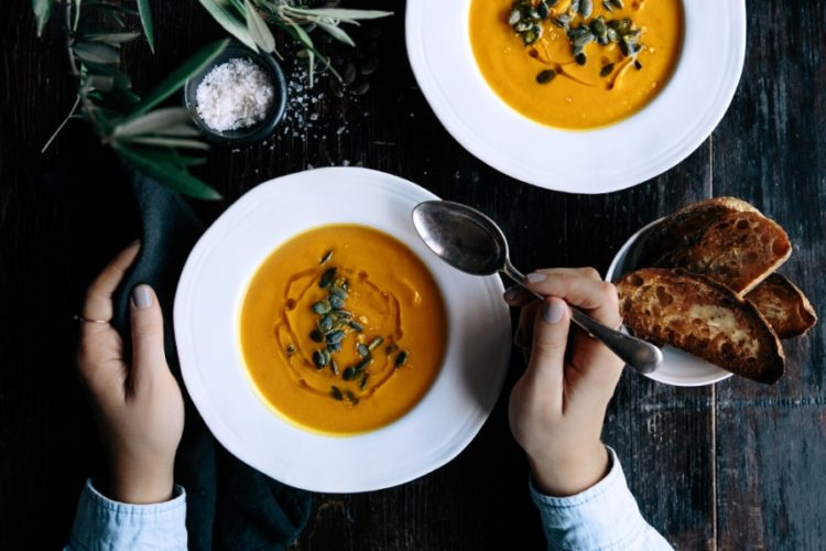 Pumpkin, Turmeric & Ginger Soup